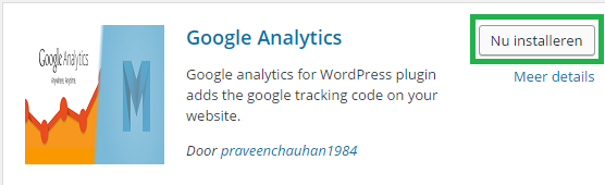Google Analytics WordPress 3